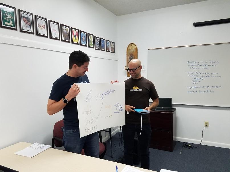 Photo of DOCAT classroom